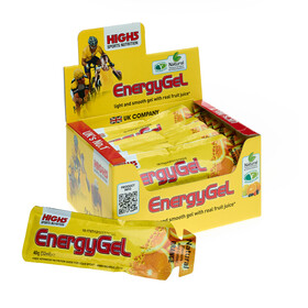 High5 EnergyGel Sport Ernæring Orange 20 x 40g